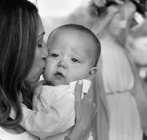 Because they are so sacred, the Christening of a new baby is an important professional family events photography moment.