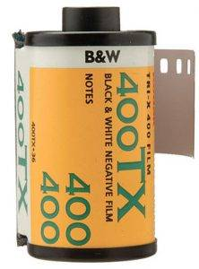 Kodak Tri-X B&W film was one of the main ingredients in the F8 and Be There rule for professional photographers.