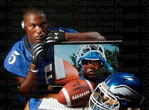 Portraits of athletes are important to the Tampa Bay sports photography scene.